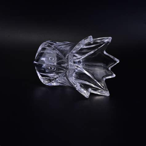 fiore di cristallo titolare fiore di cristallo candela votiva di vetro