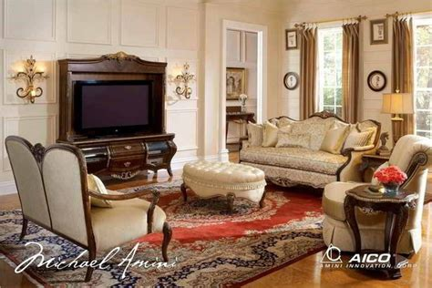 Aico Furniture Imperial Court Living Room Set Aic 798 Aico Furniture Living Room Set