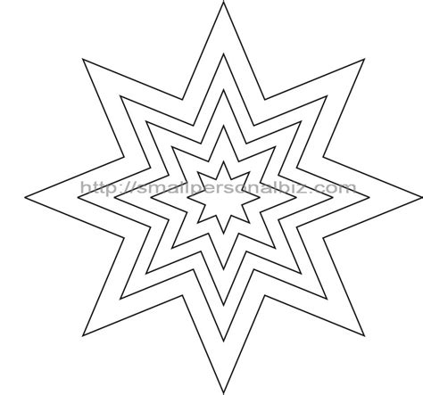 printable star drawing star template small cliparts co