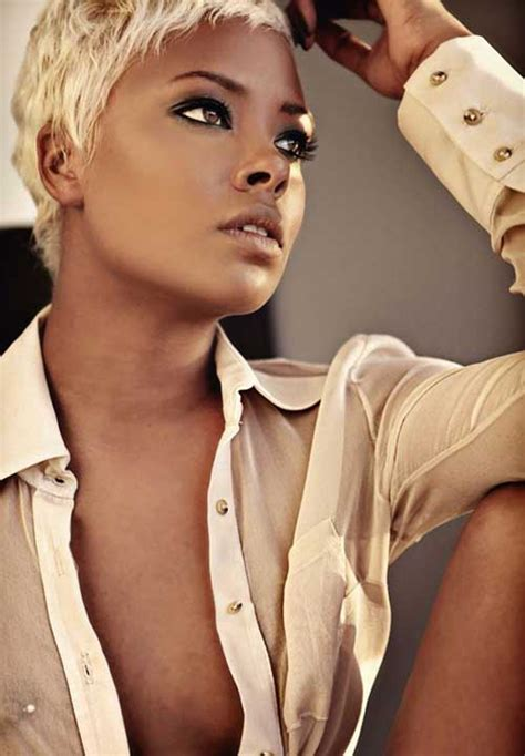 blonde hairstyles for african american 15 short blonde hairstyles for black women short