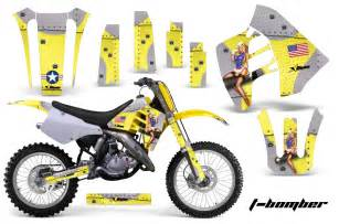 Suzuki Graphic Kits Suzuki Rm 125 250 Graphics Kit Amr Racing Bike Decal Rm125