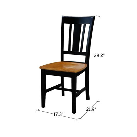 Black And Wood Dining Chairs Homesullivan Sawyer Antique Black Wood X Back Dining Chair Set Fo 2 40530c3 Bk2p The Home Depot