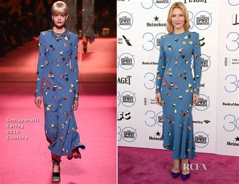 Catwalk To Carpet Cate Blanchett Carpet Style Awards by Cate Blanchett In Schiaparelli Couture 2015