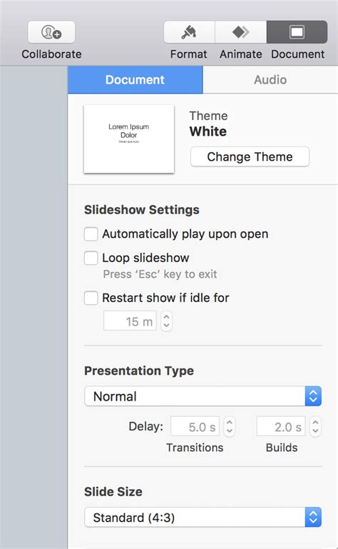 changing themes in keynote convert keynote slides to 16 9 widescreen format ask