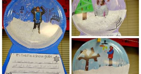 best christmas crafts for 4th grade snow globe bulletin board ideas snow globe great craft fourth grade