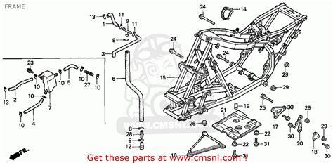 honda fourtrax 300 parts diagram 2000 honda 300ex wiring diagram 31 wiring diagram images
