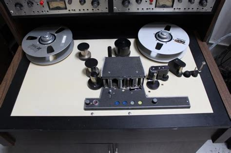 scully   track  tape machine  silver bridgeport