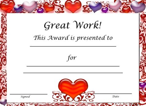 reward certificate templates free certificates for classroom free