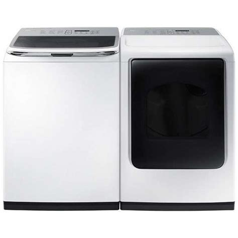 7 Best Dryers by Samsung Dv50k8600gw 7 4 Cu Ft Gas Dryer And Wa52m8650aw