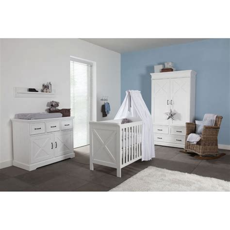 Nursery Bedroom Furniture Sets by Kidsmill Savona Cross Nursery Furniture Set