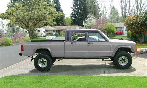 comanche jeep 4 door comanche concept redesign inputs jeep cherokee forum