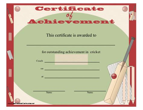 cricket certificate templates pin printable vbs certificates in mohibaseballorg