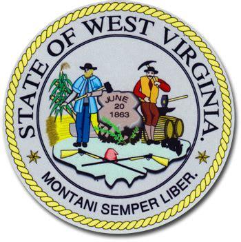 buy west virginia  state seal flagline
