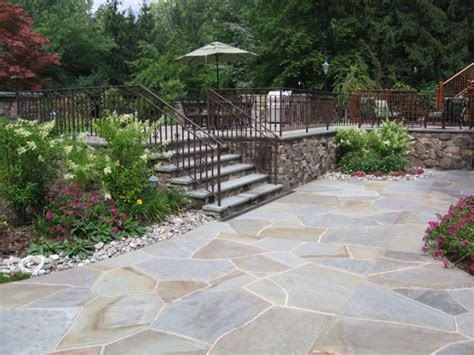 bluestone patio pictures and ideas