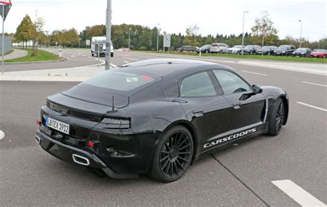 electric porsche mission electric porsche mission e benchmarked against teslas in