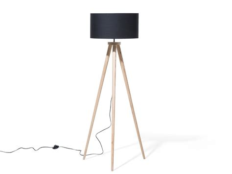tripod floor l with drum shade tripod standard floor lamp light black drum shade standing