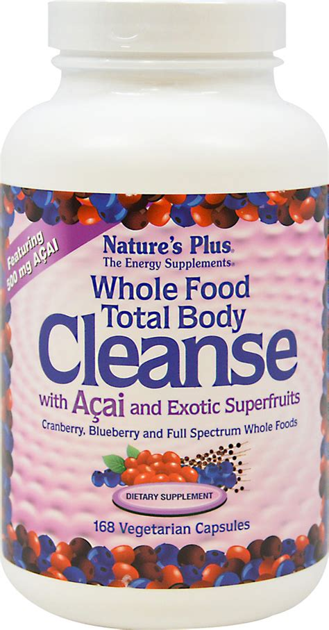 Whole Food Detox Plan by 097467011205 Upc Whole Food Total Cleanse With Acai