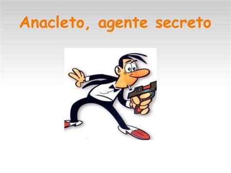 libro anacleto agente secreto personajes del comic espa 241 ol