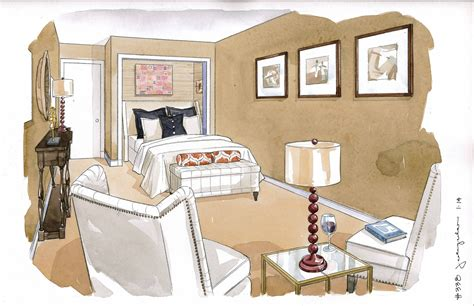 interior design guest room featured in washington post quot house calls quot section