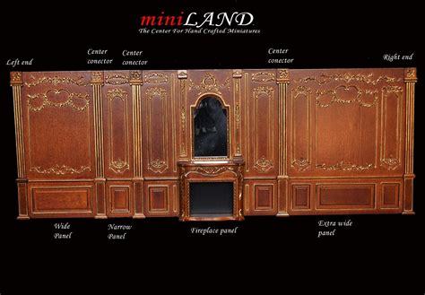 fireplace panel royal paneling  walnut  scale