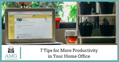 7 Tips On Your Home More Colorful by 7 Tips For More Productivity In Your Home Office Allison