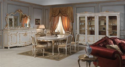 The Venice Room by Venice Dining Table In Louis Xv Style Vimercati Classic