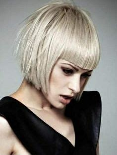 out curved bob inward curved bob hairstyle that almost reaches the