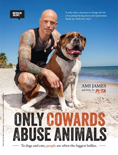 tattoo against animal cruelty only cowards abuse animals tattoo artist ami james says