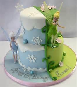 tinkerbell and periwinkle cake ideas and designs