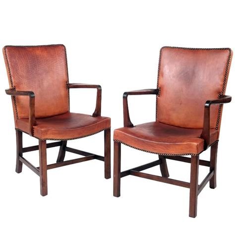 High Armchairs by Kaare Klint High Back Armchairs At 1stdibs