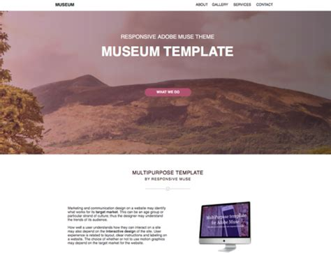 Muse Responsive Templates Archives Responsive Muse Templates Widgets Muse Templates Responsive