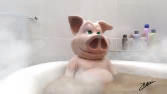 In Bathtub by Ode To A Porcelain Tub Whole Hog Marvels