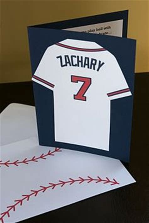 how to make birthday cards for boys 1000 ideas about baseball invitations on