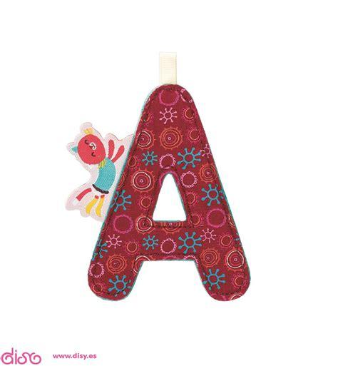de la a a letras decoraci 243 n de tela lilliputiens letra a 86767