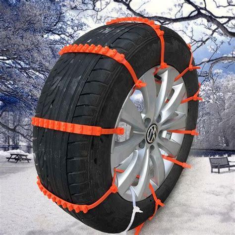 cadenas de nieve plastico 10 unids reglajes del coche universal mini de pl 225 stico
