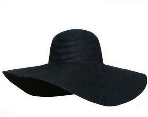 The Big Black Hat by Black Sun Hats Tag Hats