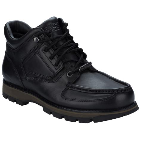 mens boots rockport mens rockport umbwe trail hiker waterproof boots in black