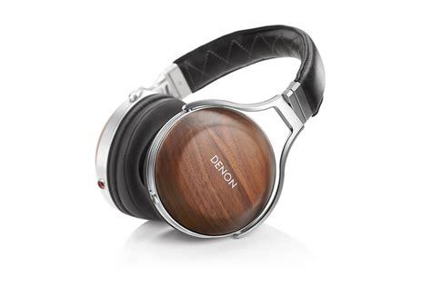 Headphone Denon Denon Ah D7200 Reference Headphone Walnut Silver Checked