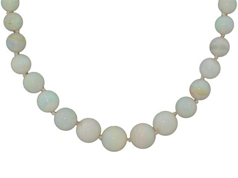 opal bead necklace opal bead necklace in 14k 504953