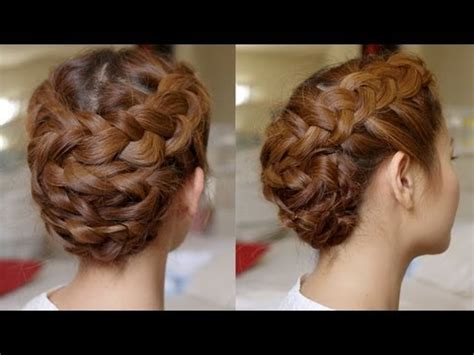 braided hairstyles tutorials youtube hair tutorial summer braided updo youtube