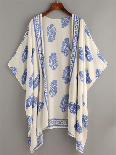 pattern kimono beige vintage pattern print kimono
