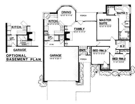 1300 sq ft house traditional style house plan 3 beds 2 baths 1300 sq ft