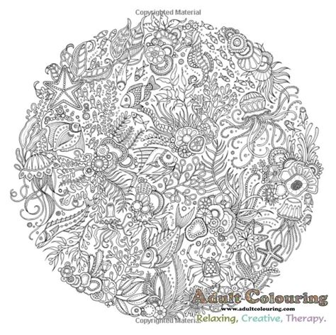 libro inky ocean creative colouring 17 best images about animal colouring book collection on coloring creative
