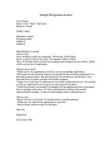 Boilerplate Resignation Letter Meaning Resignation Letter Letter Of Resignation Meaning Effective Immediately Letter Of Resignation