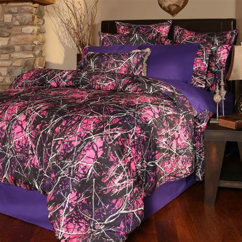 purple camo bedding muddy girl bedding collection