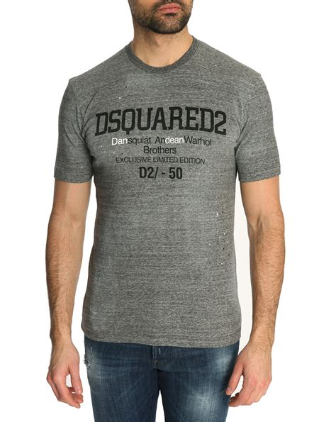 jersey shirt pattern dsquared 178 gray mottled grey jersey t shirt with speckled