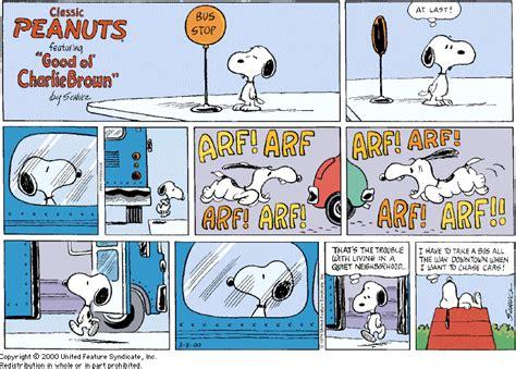 St Snoopy Stripe gallery for gt snoopy comics espa 241 ol