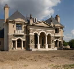 Country Style House by Country French Style Home With Formal Entry Garden