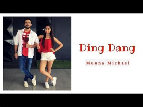 tutorial dance on ding dang ding dang munna michael bollywood dance cover