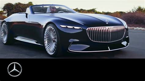 luxury mercedes maybach extraordinary mercedes maybach vision 6 cabriolet stuns at